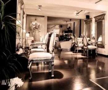 Zona de corte en peluquería